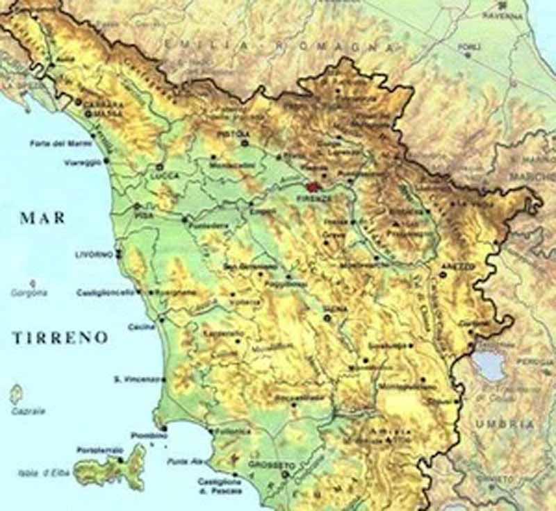 Cartina Toscana Con Province.Province In Toscana Da 10 A 4 Ma Prato Alza La Voce Mai Con Firenze