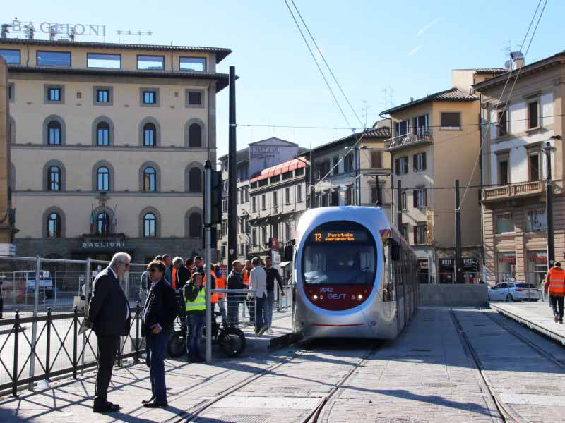 Linea 2 tramvia inaugurazione, fine lavori, apertura