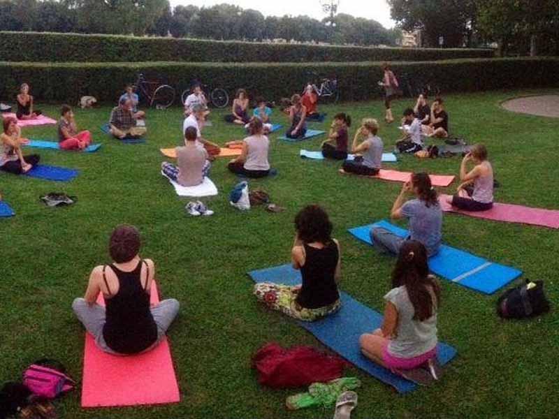 Yoga gratis Cascine Firenze dove quando