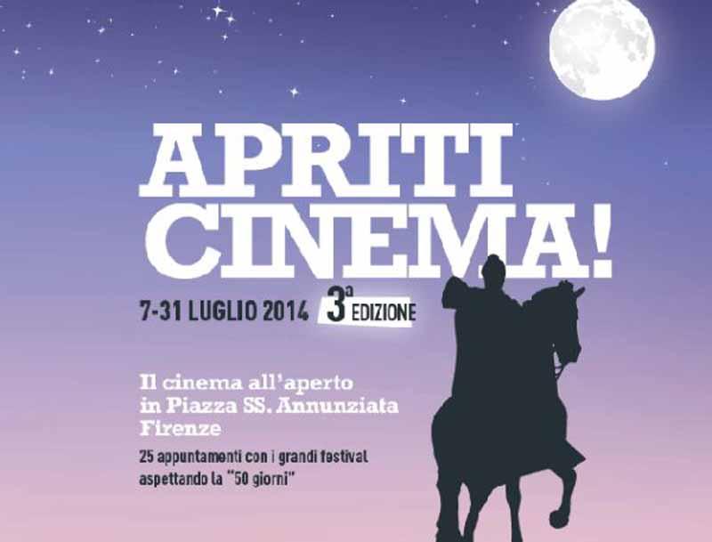 Apriti cinema in piazza Santissima Annunziata Firenze