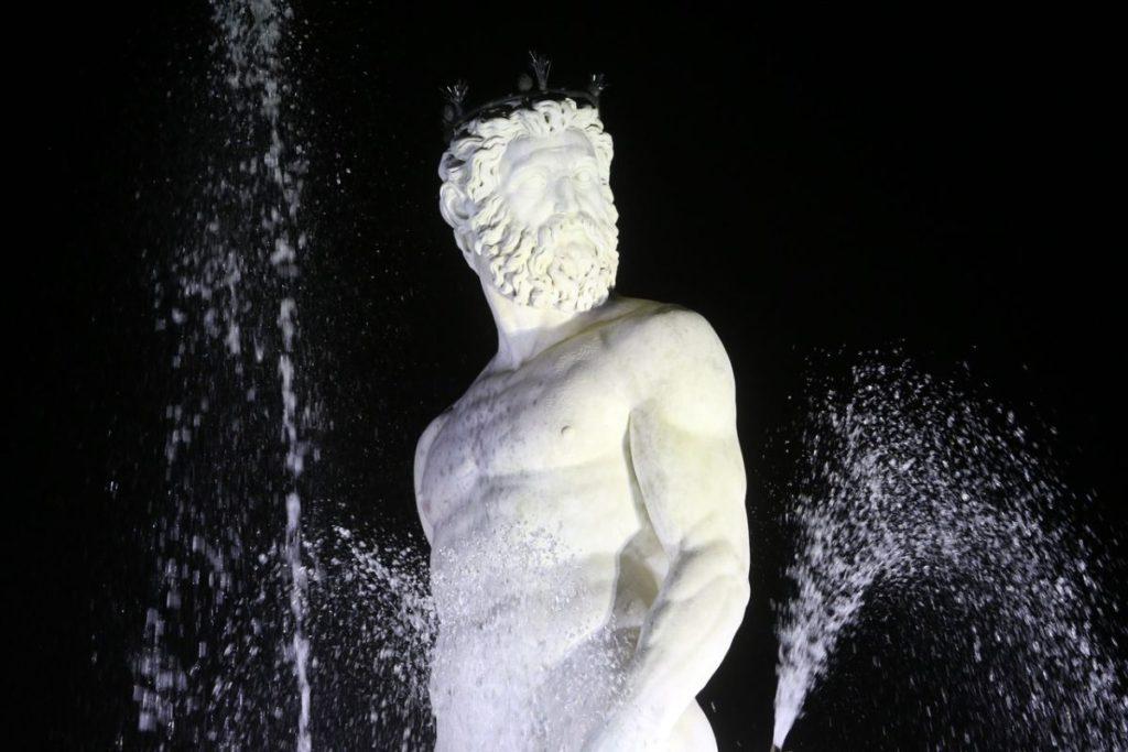 Inaugurazione Fontana Nettuno piazza Signoria
