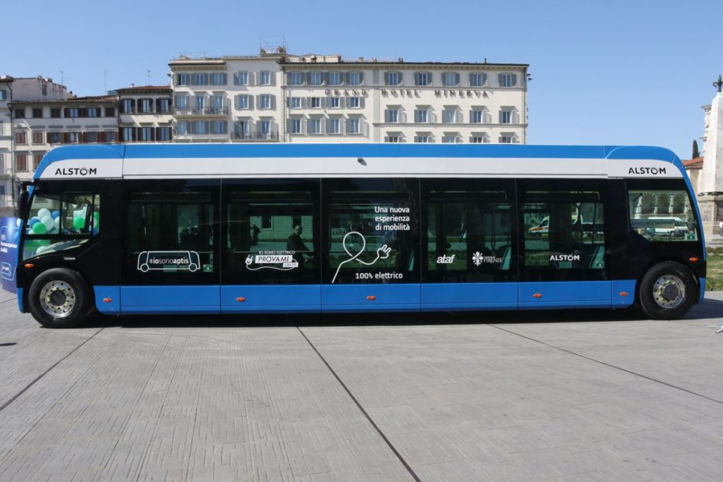 Aptis Firenze bus elettrici prova