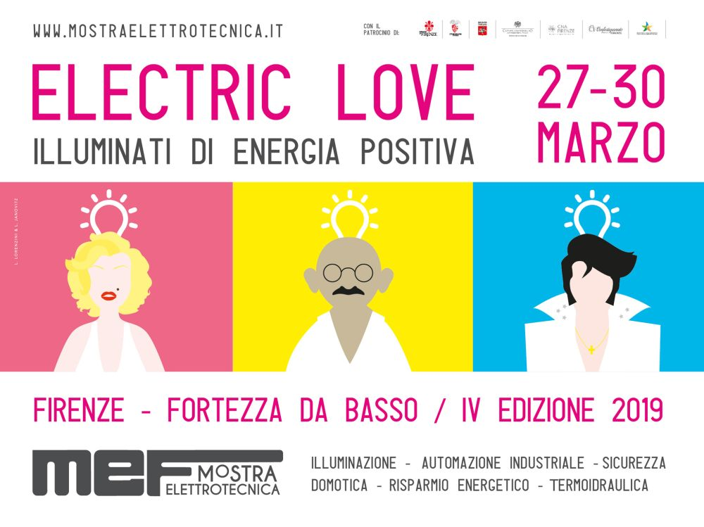 Mef Elettrotecnica Firenze 2019