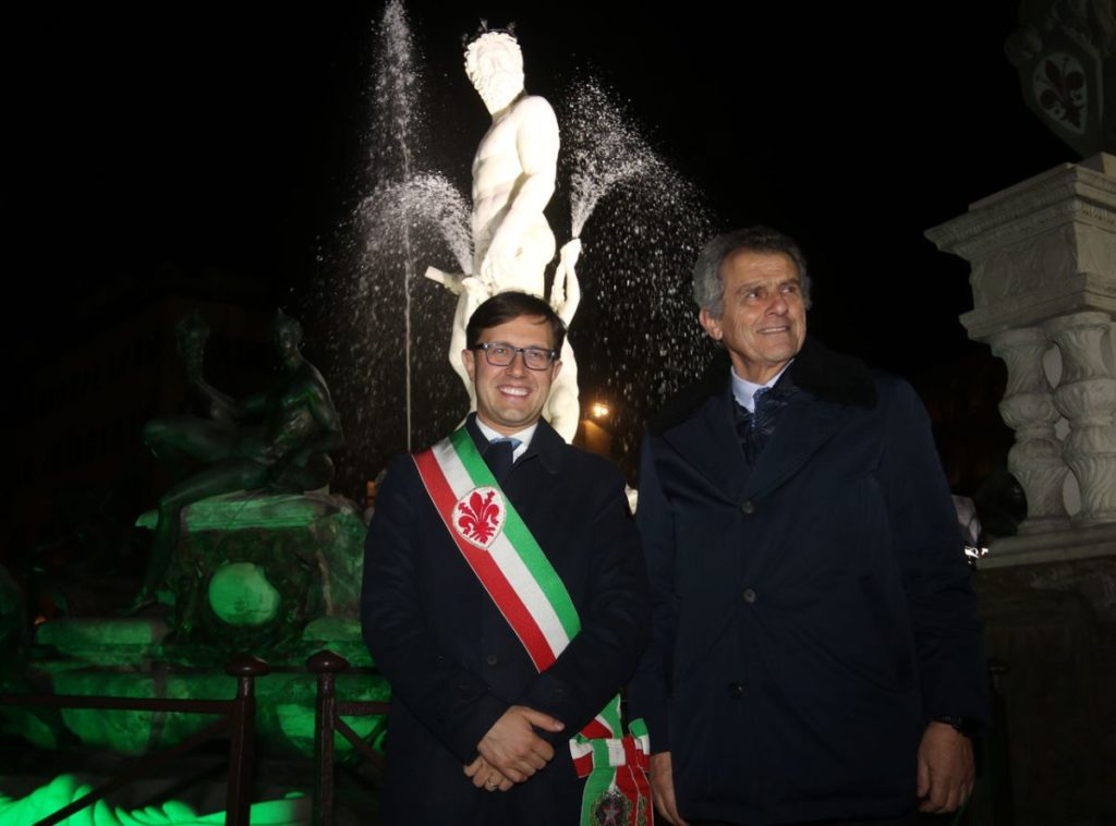 Fontana Nettuno Firenze Biancone Ammannati