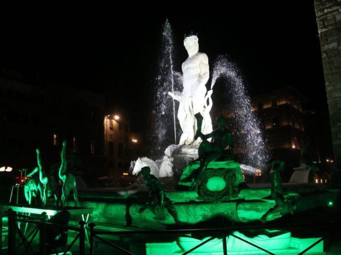 Fontana Nettuno Firenze restauro inaugurazione