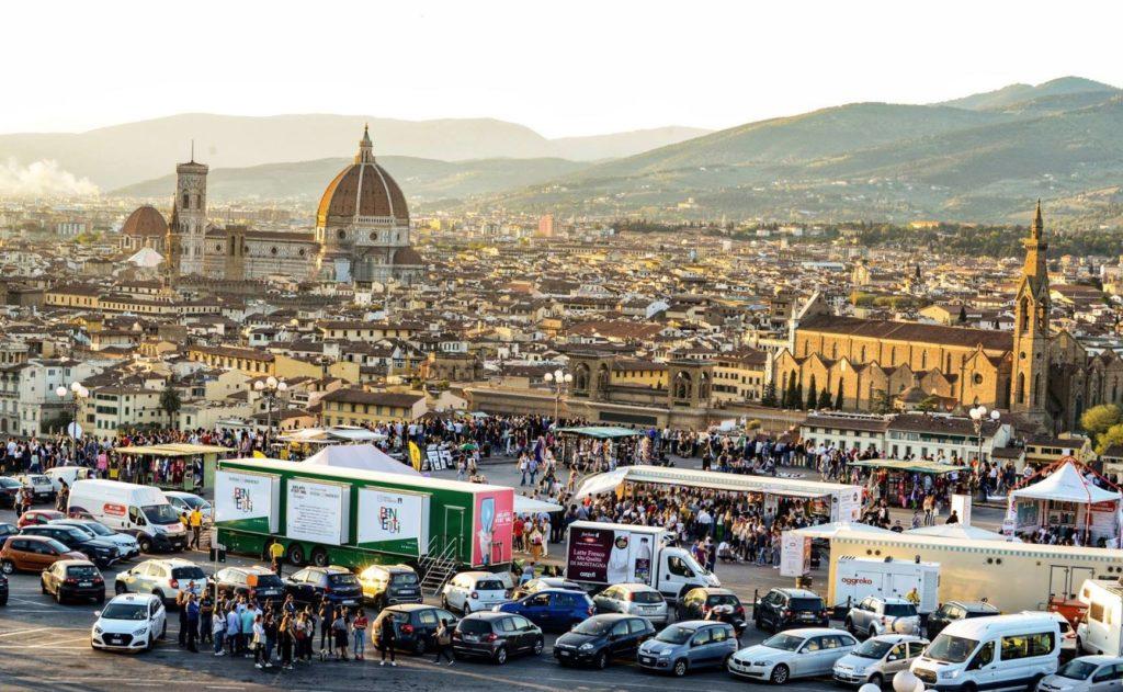 Festival gelato artigianale Firenze piazzale Michelangelo gusti in gara