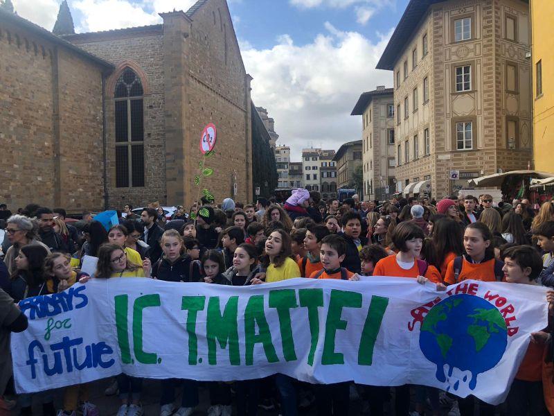 sciopero clima santa croce