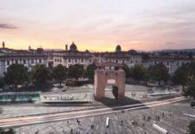 Tramvia linea 3.2 Bagno a Ripoli rendering piazza Beccaria