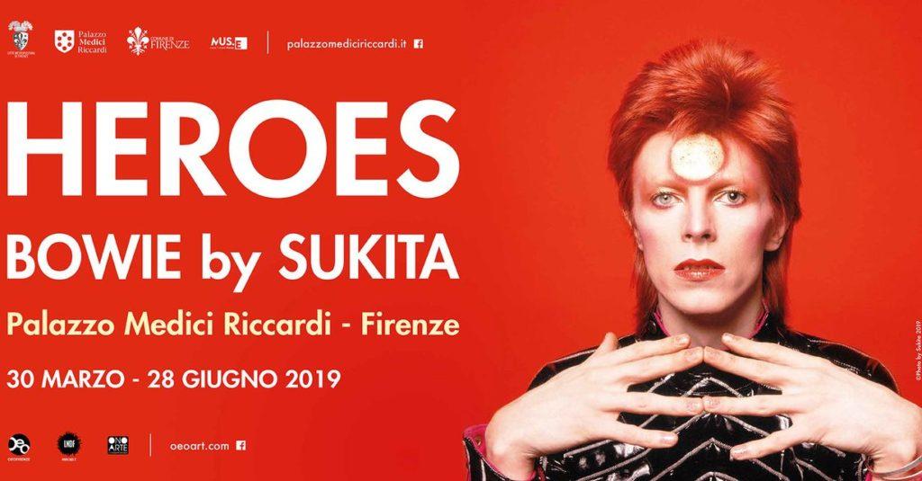 Bowie mostra firenze Palazzo Medici Riccardi prezzi biglietti orari