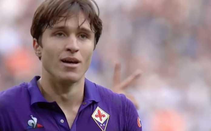 Fererico Chiesa - Juventus Fiorentina 2019