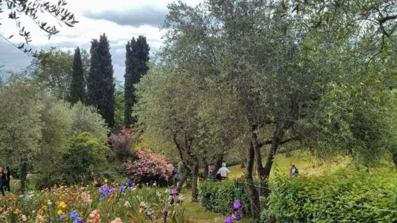 Giardino Iris Firenze apertura