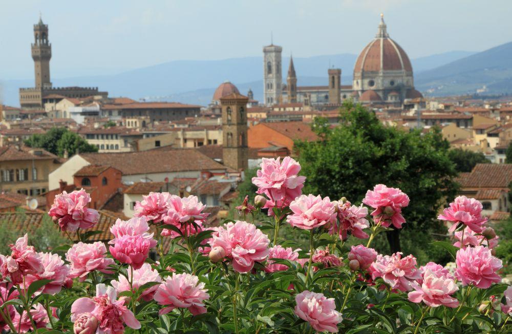 Matrimoni Toscana location giardino delle Rose Firenze