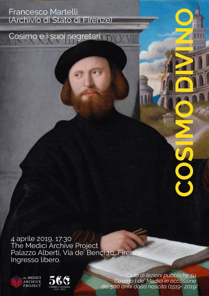 Locandina Cosimo e i suoi segretari