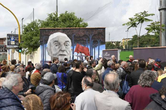 Murale Silvano Sarti Legnaia