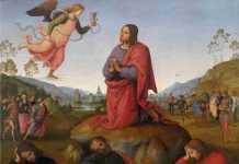 Perugino Orazione nell'Orto