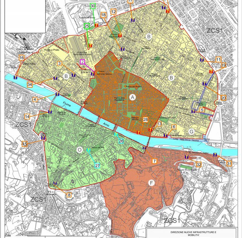 Mappa ztl notturna Firenze - ztl estiva notturna 2019 quali sono orari