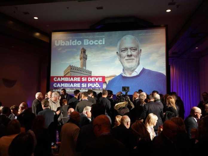 Ubaldo Bocci apre la campagna elettorale con i candidati delle liste e i partiti che lo sostengono