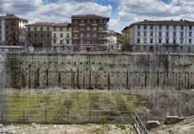 Ex area fiat viale Belfiore Firenze vasca