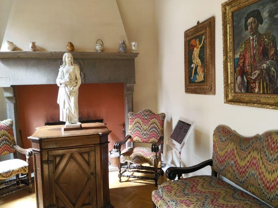 Casa museo Rodolfo Siviero - notte europea musei Firenze 2019