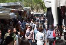 mercato stadio Firenze Fiera primavera Campo Marte