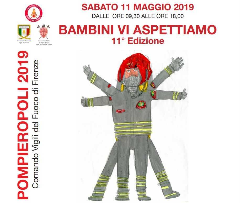 Pompieropoli Firenze 2019 locandina programma