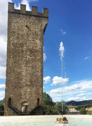 Rampe Poggi Firenze restauro Torre San Niccolò