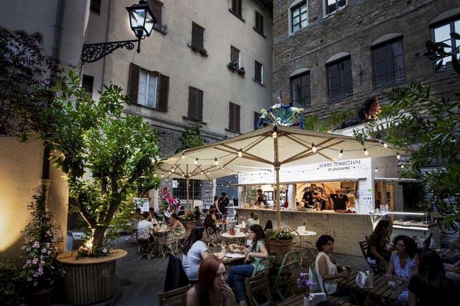Serre Torrigiani in piazzetta 2019 locali estivi Firenze