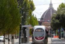 Tramvia linea 1 percorso fermate mezzi pubblici Firenze
