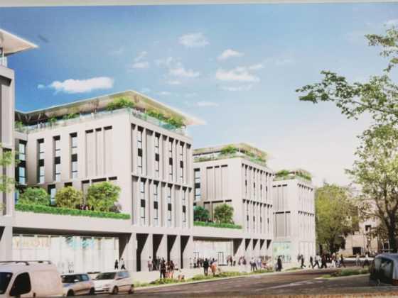 Viale Belfiore Student Hotel ex area FIat Firenzerendering