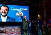 La chiusura della campagna elettorale di Ubaldo Bocci