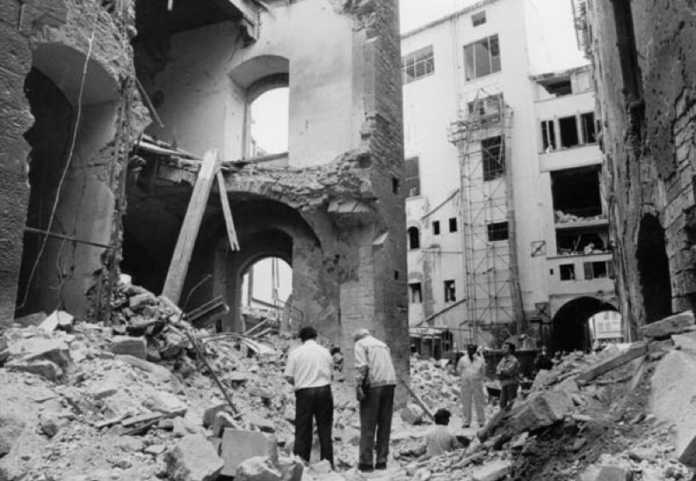 Firenze ricorda la strage dei Georgofili