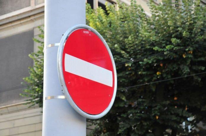 Viabilità via Canova via Sernesi senso unico