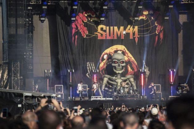 Firenze Rocks Sum 41