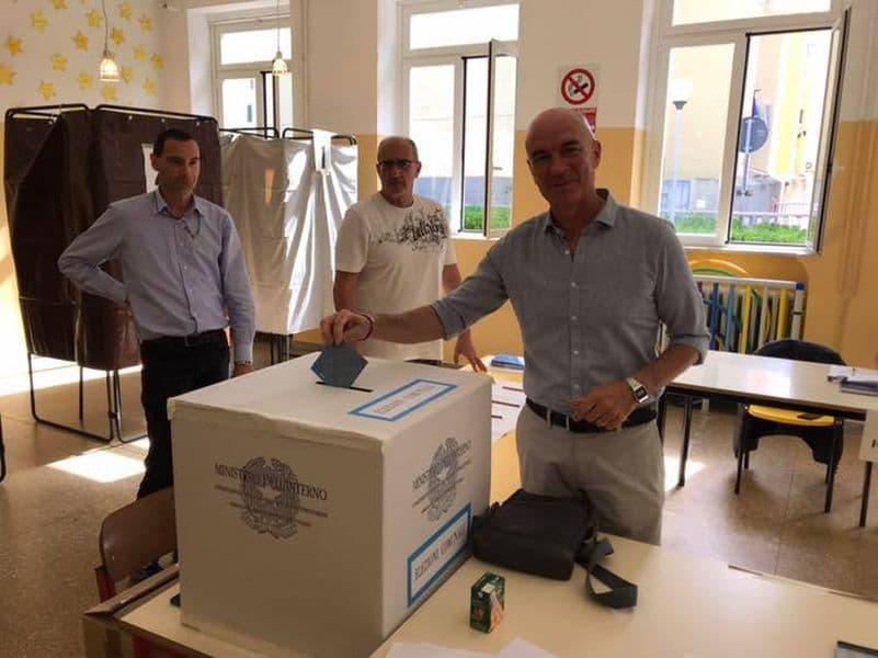 Luca Salvetti Livorno ballottaggio 2019