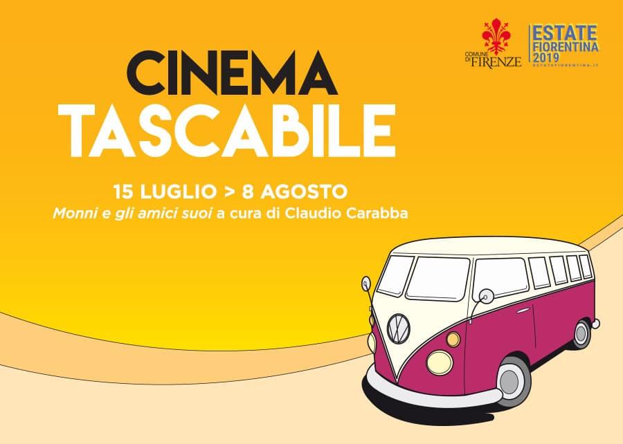 Cinema tascabile 2019 Firenze piazza locandina