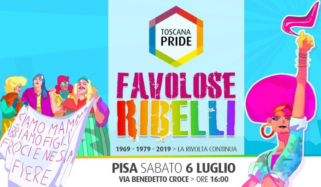 Pisa Pride 2019 manifesto percorso orario gay pride