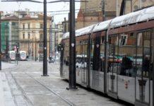 Tramvia Firenze sud Bagno a Ripoli pali