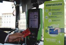 Biglietti autobus Ataf, acquisto a bordo con carta di pagamento