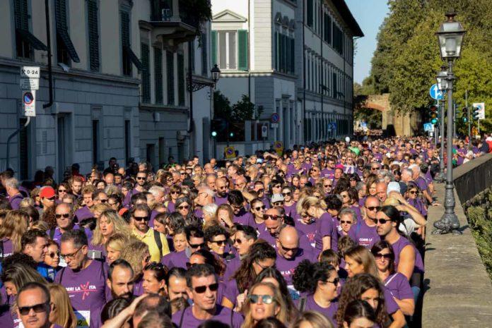 Corri la Vita Firenze percorso