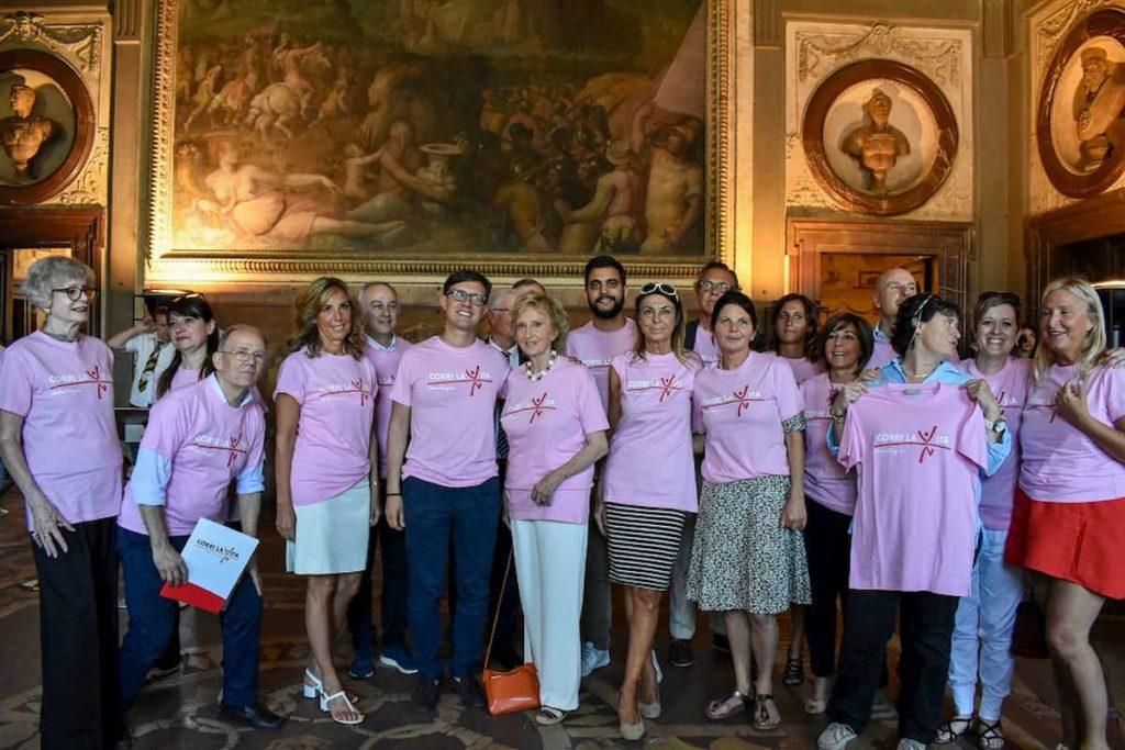 Corri la Vita 2019 Firenze iscrizioni colori maglia