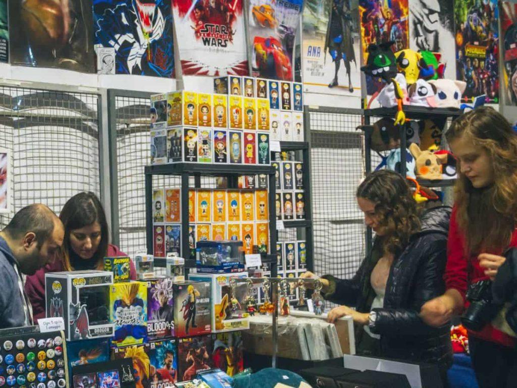 Firenze Comics 2019 games fumetti