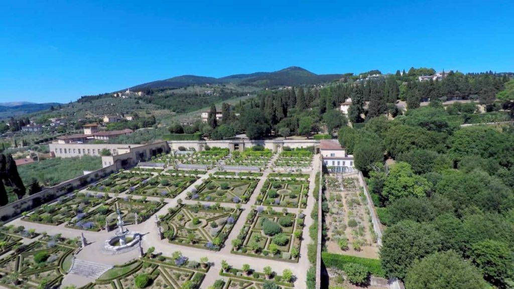 Ville medicee Firenze gratis giardino Castello