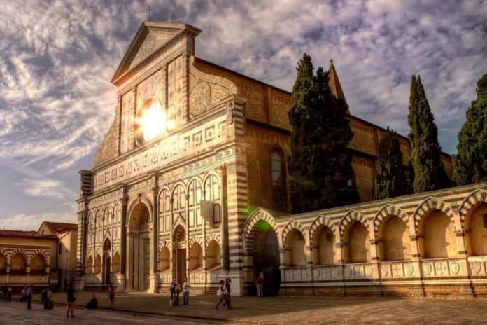 Santa Maria Novella Card fiorentino musei Firenze