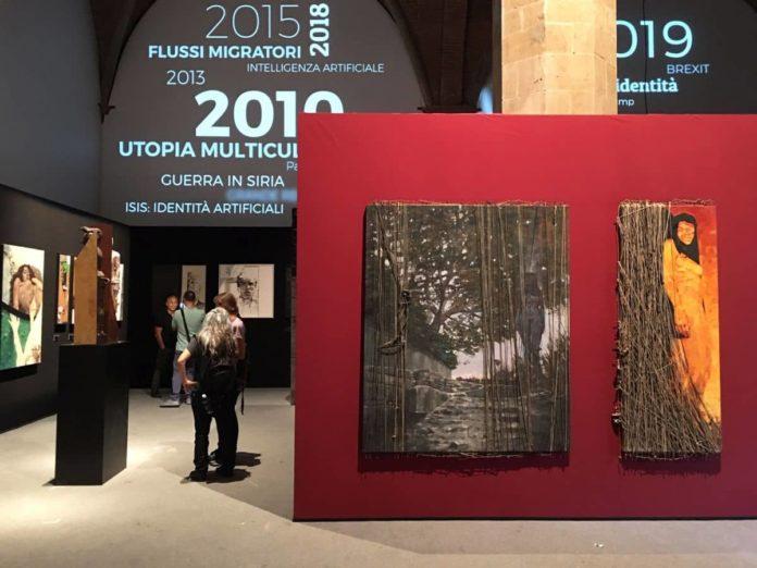 Tiziano Bonanni mostra Sala d'Arme Palazzo Vecchio Firenze