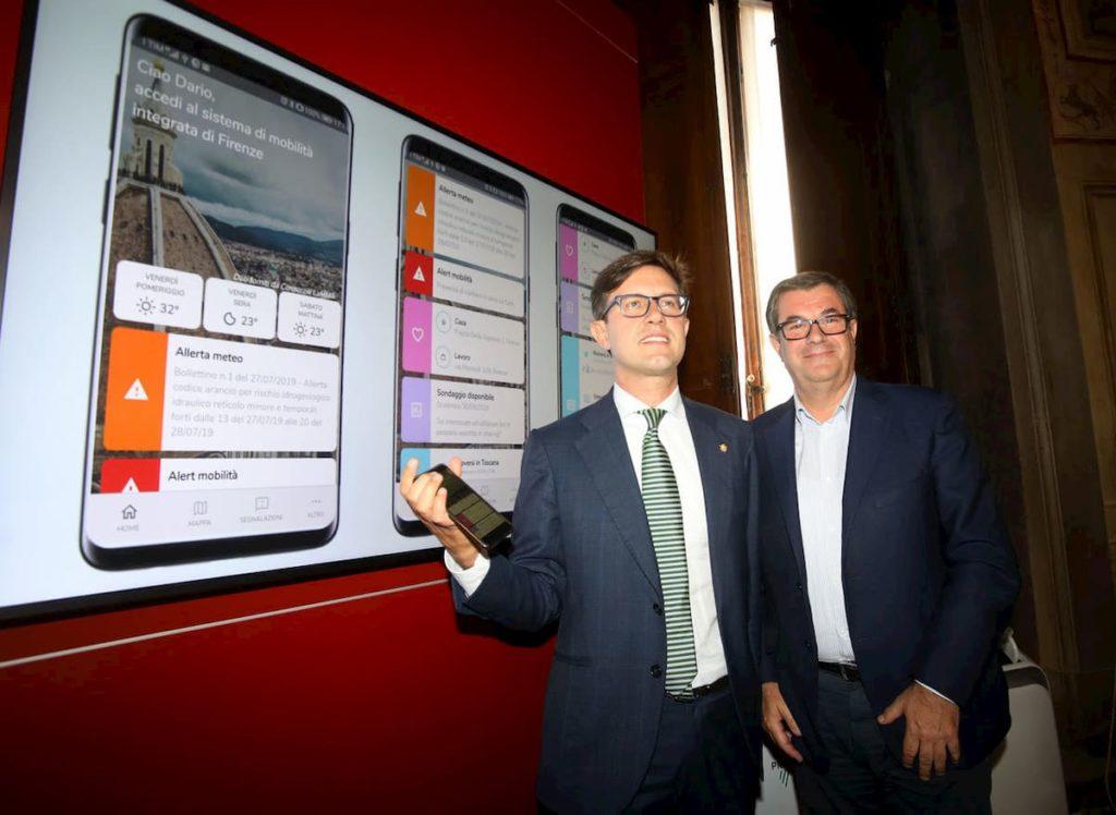 App if infomobilità traffico Comune Firenze