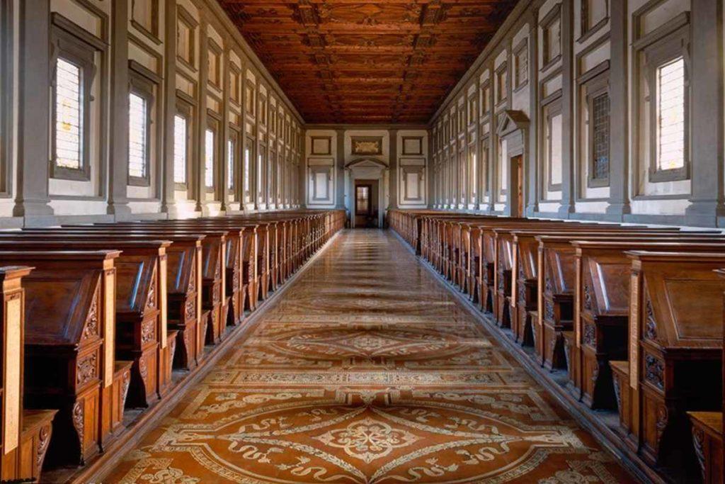 Biblioteca medicea Laurenziana Firenze