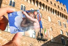Card fiorentino come si acquista dove farla Firenze