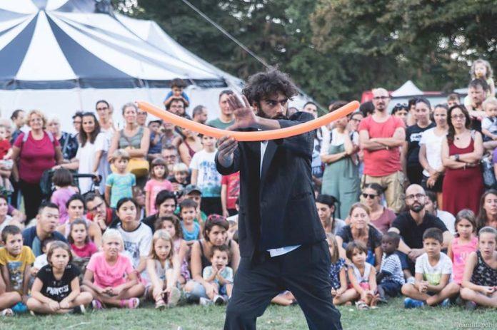 Cirk Fantastik Cascine Firenze festival circo