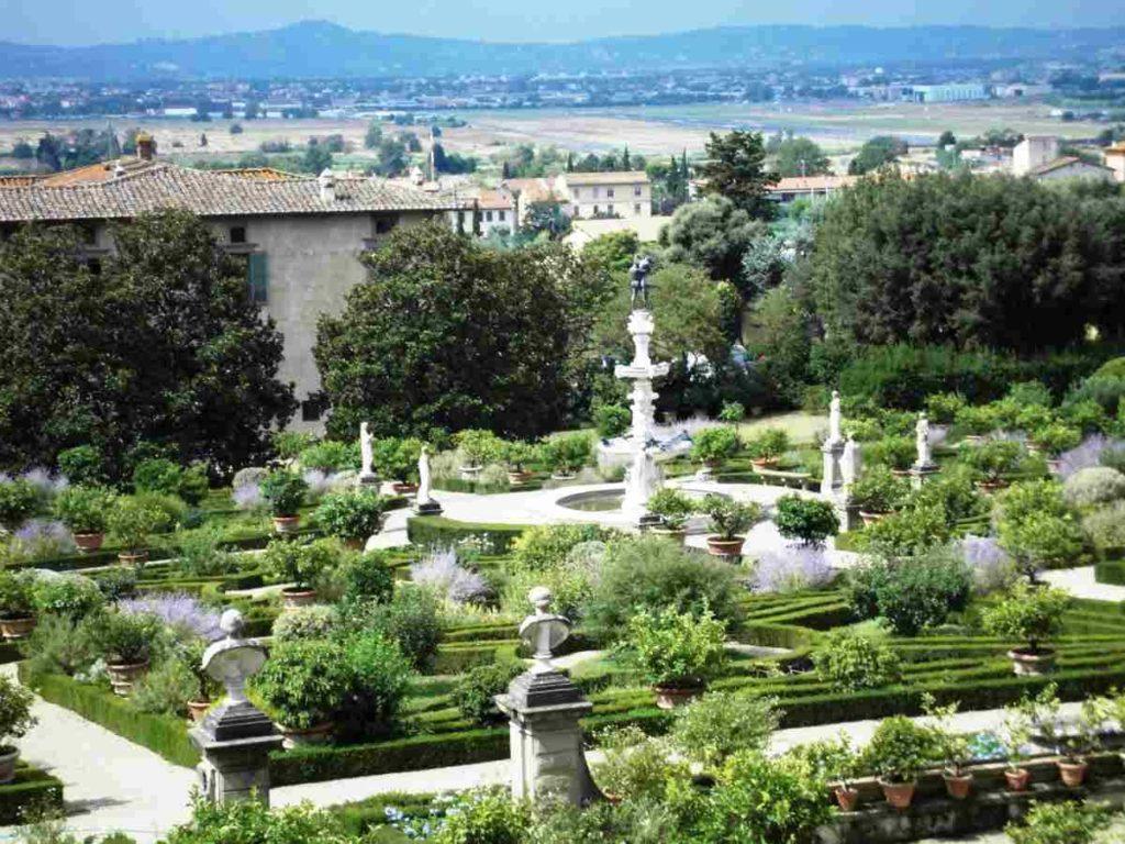 Giardino Villa Castello visite guidate gratis cosa vedere Firenze weekend