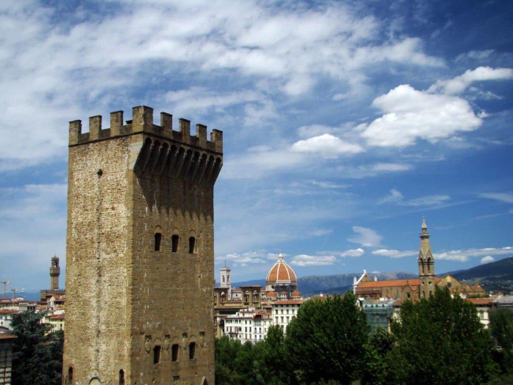 Torre San Niccolò Card fiorentino musei